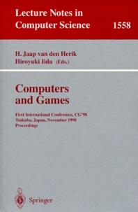 Hiroyuki Iida et H Jaap Van Den Herik - COMPUTERS AND GAME. - First International Conference, CG'98, Tsukub, Japan, November 1998, Proceedings.