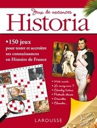 Historia - Jeux de vacances Historia.