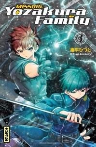 Hitsuji Gondaira - Mission : Yozakura family Tome 3 : Avec un extrait du Tome 1.