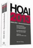 HOAI 2013 - Honorartabellenbuch - Verordnung über die Honorare für Architekten- und Ingenieurleistungen.