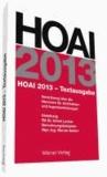 HOAI 2013 - Textausgabe.
