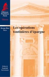 Hoang Dieu Tran - Les opérations tontinières d'épargne.