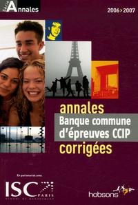 Hobsons - Annales de la banque d'épreuves communes CCIP - Sujets et corrigés.