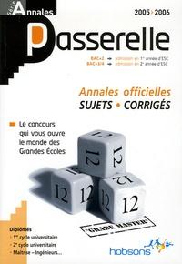 Goodtastepolice.fr Annales Passerelle ESC Concours 2005 - Sujets et corrigés Image