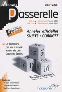 Rhonealpesinfo.fr Annales Passerelle ESC - Concours 2007, sujets et corrigés Image