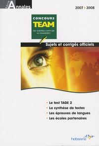 Annales TEAM concours 2007 - Sujets et corrigés officiels.pdf