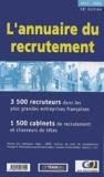 Hobsons - L'annuaire du recrutement 2001-2002.