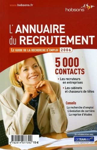 Hobsons - L'Annuaire du recrutement - Le guide de la recherche d'emploi.