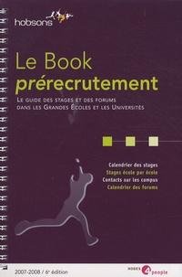 Hobsons - Le Book prérecrutement 2007-2008.