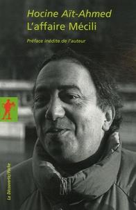 Hocine Ait-Ahmed - L'affaire Mécili.