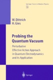 Holger Gies et Walter Dittrich - Probing the Quantum Vacuum. - Perturbative Effective Action Approach in Quantum Electrodynamics and its Application.