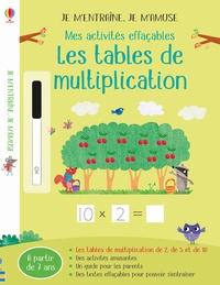 Holly Bathie et Maddie Frost - Mes activités effaçables les tables de multiplication.