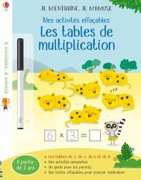 Holly Bathie et Marta Cabrol - Mes activités effaçables - Les tables de multiplication.