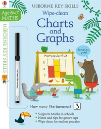 Holly Bathie - Wipe-Clean Charts and Graphs - Maths 6 to 7.