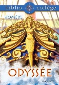 Homère et Monique Edmond-Bonetto - Bibliocollège - Odyssée, Homère.