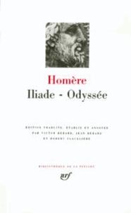 Homère - Iliade - Odyssée.