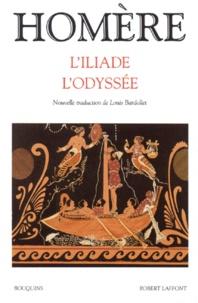 Homère et Louis Bardollet - L'Iliade ; L'Odyssée.