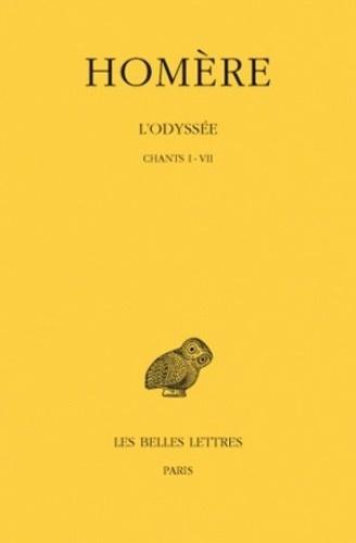 Homère - L'Odyssée - Tome 1, Chants I-VII.