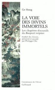 La voie des divins immortels- Les chapitres discursifs du