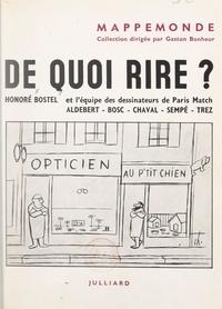 Honoré Bostel et  Aldebert - De quoi rire ?.