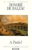 Honoré de Balzac - À Paris !.
