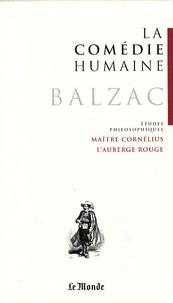 Honoré de Balzac et Didier Alexandre - La Comédie humaine Tome 21 : Un drame au bord de la mer ; Maître Cornélius ; L'Auberge rouge ; Sur Catherine de Médicis.