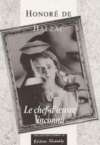Honoré de Balzac - Le chef-d'oeuvre inconnu - La Belle noiseuse.