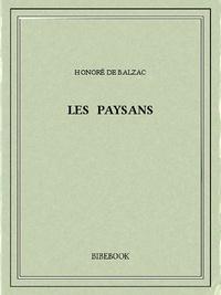 Honoré de Balzac - Les paysans.