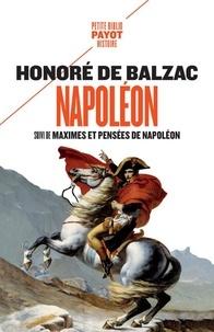 Téléchargez des livres au format djvu Napoléon  - Suivi de Maximes et pensées de Napoléon