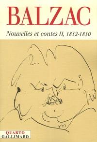 Honoré de Balzac - Nouvelles et contes - Tome 2, 1832-1850.