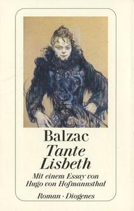 Histoiresdenlire.be Tante Lisbeth - Mit einem Essay von Hugo von Hofmannsthal Image