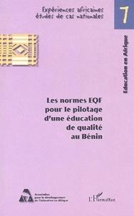 Honoré Dewanou et Victoire Akpakpo - Les normes EQF pour le pilotage d'une éducation de qualité au  Bénin.