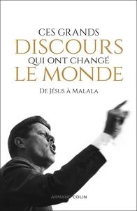 Honoré-Gabriel de Mirabeau et Maximilien Robespierre (de) - Ces grands discours qui ont changé le monde - De Jésus à Malala.