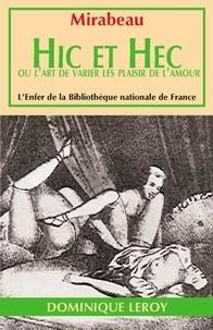 Honoré-Gabriel de Mirabeau - Hic et Hec.