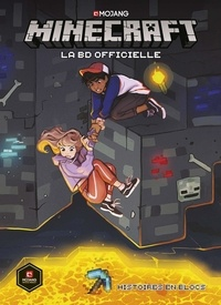Hope Larson et Kevin Panetta - Minecraft - La BD officielle  : Histoires en blocs.
