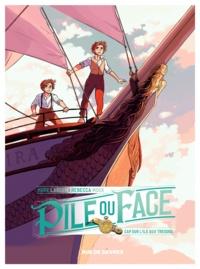 Hope Larson et Rebecca Mock - Pile ou face Tome 2 : Cap sur l'île aux trésors.