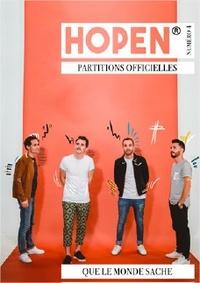 Hopen - Hopen 4e album : Que le monde sache - Livret de partitions.