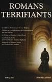 Horace Walpole et Ann Radcliffe - Romans terrifiants.