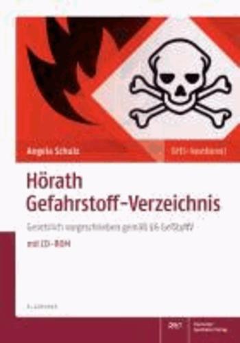 Hörath Gefahrstoff-Verzeichnis - Gesetzlich vorgeschrieben gemäß § 6 GefStoffV.