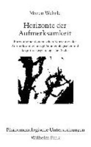 Horizonte der Aufmerksamkeit - Entwurf einer dynamischen Konzeption der Aufmerksamkeit aus phänomenologischer und kognitionspsychologischer Sicht.