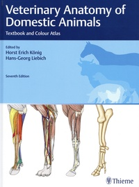 Horst Erich König et Hans-Georg Liebich - Veterinary Anatomy of Domestic Animals - Textbook and Colour Atlas.