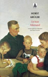 Horst Kruger - Un bon allemand.