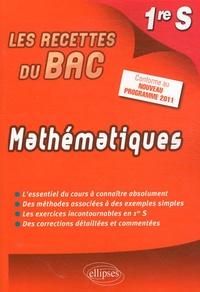 Horst Lottermoser - Mathématiques 1re S - Conforme au nouveau programme 2011.