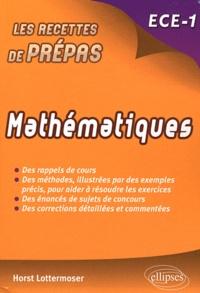 Horst Lottermoser - Mathématiques ECE-1.