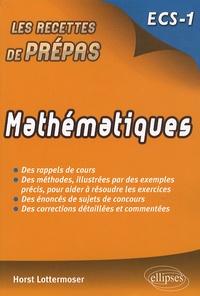 Horst Lottermoser - Mathématiques ECS-1.
