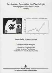Galabria.be Zentenarbetrachtungen - Historische Entwicklungen in der neueren Psychologie bis zum Ende des 20. Jahrhunderts Image
