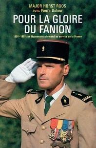 Horst Roos - Pour la gloire du fanion.