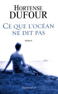 Hortense Dufour - Ce que l'océan ne dit pas.