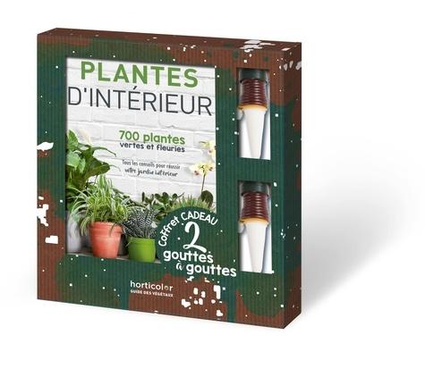 Plantes d'intérieur. Avec 2 gouttes à gouttes