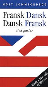 Hosts Lommeordboger - Fransk-Dansk / Dansk-Fransk - Med Miniparlor.